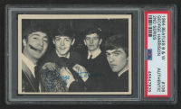 George Harrison 1964 Beatles Black and White #106 (PSA Authentic) at PristineAuction.com