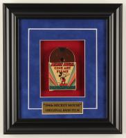 "Vintage ""Mickey Mouse Cine Art Films"" 10.5x11.5 Custom Framed 1940s 8mm Film Reel Display at PristineAuction.com"