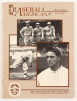 1984 Baseball Americana Postcard Book Magazine with Complete Set of Conlon Collection Postcards including Multiple Babe Ruths at PristineAuction.com