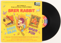 "Vintage 1970 Walt Disney's ""Brer Rabbit"" Vinyl LP Record Album at PristineAuction.com"