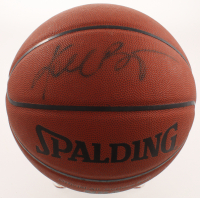 Kobe Bryant Signed NBA Basketball (PSA Hologram & JSA LOA) at PristineAuction.com