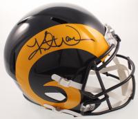 Kurt Warner Signed Rams Full-Size Speed Helmet (Beckett COA) at PristineAuction.com