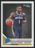 Zion Williamson 2019-20 Panini Donruss Rated Rookie #201 RC at PristineAuction.com