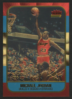 1996-97 Fleer Decade of Excellence Gold Refractor #4 Michael Jordan at PristineAuction.com