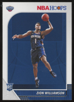 Zion Williamson 2019-20 Hoops #258 RC at PristineAuction.com