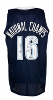 Jersey Team-Signed by (8) with Josh Hart, Kris Jenkins, Ryan Arcidiacono, Henry Lowe (JSA COA) at PristineAuction.com