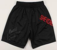 "Valentina Shevchenko Signed UFC Shorts Inscribed ""Bullet"" (PSA COA) at PristineAuction.com"