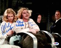 "Gene Wilder, Mel Brooks & Teri Garr Signed ""Young Frankenstein"" 8x10 Photo (PSA COA) at PristineAuction.com"