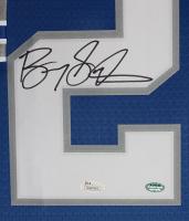 Barry Sanders Signed 35x43 Custom Framed Jersey (JSA COA) at PristineAuction.com