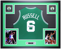 Bill Russell Signed 35x43 Custom Framed Jersey (JSA COA) at PristineAuction.com