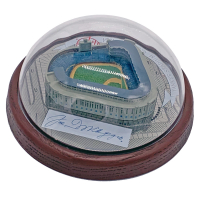 Joe DiMaggio Signed Hawthorne Yankees Stadium Figurine (JSA LOA) at PristineAuction.com