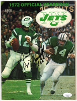 Joe Namath Signed Jets 1972 Yearbook (JSA COA) at PristineAuction.com