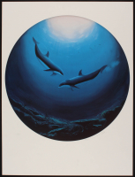 "Wyland Signed ""Dolphin Serenity"" LE 19x28 Lithograph #866/950 (Wyland COA) at PristineAuction.com"