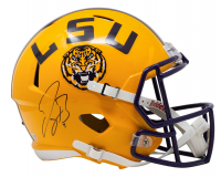 Joe Burrow Signed LSU Tigers Full-Size Speed Helmet (Fanatics Hologram) at PristineAuction.com