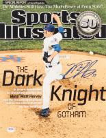 Matt Harvey Signed Mets 11x14 Photo (PSA Hologram) at PristineAuction.com