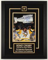 Sidney Crosby Signed Penguins 16x20 Custom Framed Photo Display (FSM COA) at PristineAuction.com