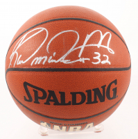 Karl Malone Signed Spalding Indoor/Outdoor Basketball (JSA COA) at PristineAuction.com