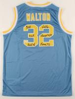 """Bill Walton Signed UCLA Bruins Jersey Inscribed """"Hall of Fame '93"""" & """"UCLA Champs 72,73"""" (JSA Hologram) at PristineAuction.com"""