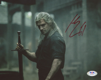 "Henry Cavill Signed ""The Witcher"" 8x10 Photo (PSA Hologram) at PristineAuction.com"