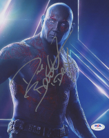 "Dave Bautista Signed ""Guardians of the Galaxy"" 8x10 Photo Inscribed ""Drax"" (PSA Hologram) at PristineAuction.com"