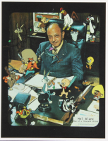 "Lot of (2) Mel Blanc Flats With (1) ""Looney Tunes"" 8x10 Photo & (1) Signed ""Hollywood The Academy of Magical Arts, Inc."" Member Card (PSA COA) at PristineAuction.com"