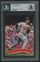 Cal Ripken Jr. Signed 1997 Stadium Club #8 (BGS Encapsulated) at PristineAuction.com
