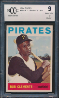 Roberto Clemente 1964 Topps #440 (BCCG 9) at PristineAuction.com