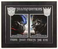 """Transformers"" 19.5x23.5 Custom Framed Photo Display at PristineAuction.com"