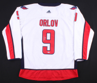 Dmitry Orlov Signed Capitals Jersey (Beckett COA) at PristineAuction.com