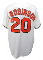 "Frank Robinson Signed Orioles Jersey Inscribed ""HOF 82"" (JSA COA & SI Hologram) at PristineAuction.com"