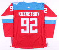 Evgeny Kuznetsov Signed Russian National Team Jersey (Beckett COA) at PristineAuction.com