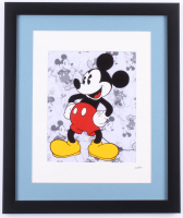 """Walt Disney's """"Mickey Mouse"""" 16x19 Custom Framed Hand-Painted Animation Serigraph Display at PristineAuction.com"""