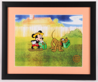 """Walt Disney's """"Mr. Mouse Takes a Trip"""" 16x19 Custom Framed Animation Serigraph Display at PristineAuction.com"""