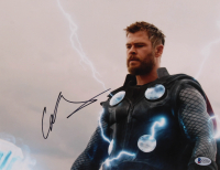 "Chris Hemsworth Signed ""Avengers"" 11x14 Photo (Beckett COA) at PristineAuction.com"
