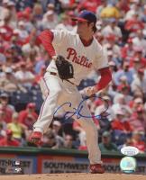 Cole Hamels Signed Phillies 8x10 Photo (JSA COA) at PristineAuction.com