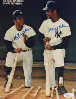 Matty Alou & Felipe Alou Signed Yankees 8x10 Photo (JSA COA) at PristineAuction.com
