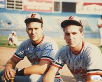Cal Ripken Jr. & Billy Ripken Signed Orioles 8x10 Photo (JSA COA) at PristineAuction.com