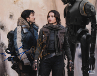"Diego Luna & Felicity Jones Signed ""Rogue One: A Star Wars Story"" 11x14 Photo (Beckett COA) at PristineAuction.com"
