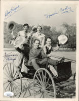 Roy Rogers, Spade Cooley & Foreman Phillips Signed 8x10 Photo (JSA COA) at PristineAuction.com