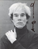 Andy Warhol Signed 8x10 Photo (JSA ALOA) at PristineAuction.com