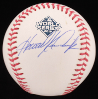 Howie Kendrick Signed 2019 World Series Baseball (JSA COA) at PristineAuction.com