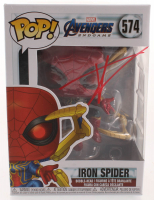 "Tom Holland Signed ""Iron Spider"" #574 Avengers: Endgame Bobble-Head Funko Pop Vinyl Figure (JSA COA) at PristineAuction.com"