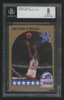 Michael Jordan 1990-91 Hoops #5 AS SP (BGS 8) at PristineAuction.com