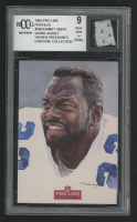 Emmitt Smith 1993 Pro Line Profiles #590 with Game-Used Jersey (BCCG 9) at PristineAuction.com