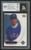 Alex Rodriguez 2001 Upper Deck Ovation #15 with Game-Used Bat (BCCG 9) at PristineAuction.com