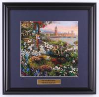"Thomas Kinkade Walt Disney's ""101 Dalmatians"" 18x18.5 Custom Framed Print Display at PristineAuction.com"