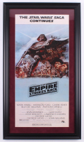 """Star Wars: The Empire Strikes Back"" 17.5x30.5 Custom Framed Movie Poster Print at PristineAuction.com"
