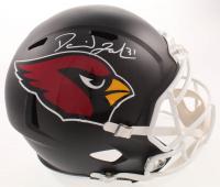 David Johnson Signed Cardinals Full-Size Matte Black Speed Helmet (Beckett COA) at PristineAuction.com