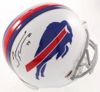 Tremaine Edmunds Signed Bills Full-Size Helmet (Beckett COA) at PristineAuction.com