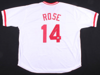 Pete Rose Signed Jersey (Fiterman Sports Hologram) at PristineAuction.com